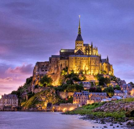 Castillo Le Mont Saint Michel